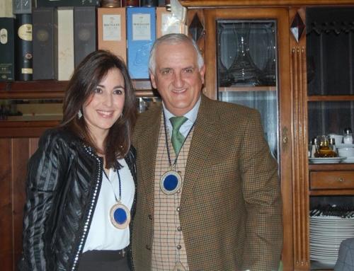 Eva González, nuevo miembro de la Academia de Gastronomía de Salamanca